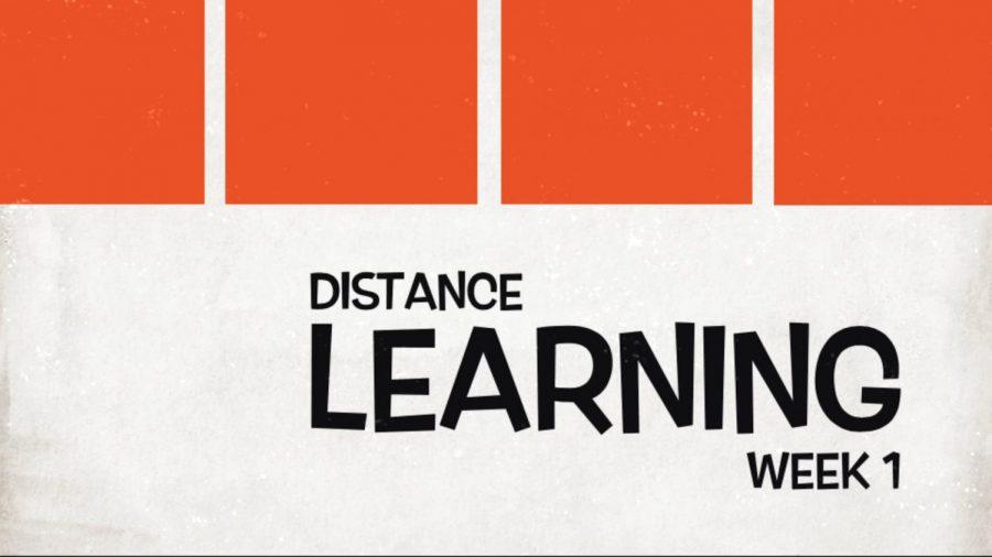 VIDEO: Distance Learning Week 1