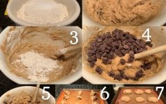 This is a step by step guide on how to make the cookies