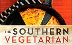 This is the cover of the cookbook The Southern Vegetarian by Amy Lawrence and Justin Fox Burks