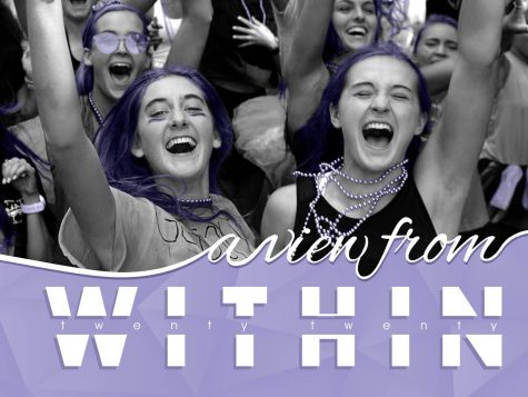 This is the unique design for the Hutchison 2019-2020 yearbook.