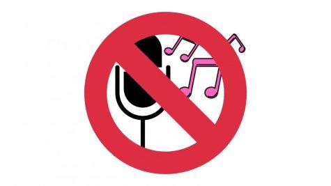 No Singing Aloud