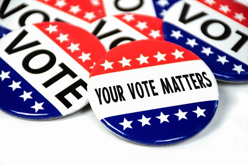 Photo by NCW Libraries. Registering to vote is very important to be able to participate in voting for the election.