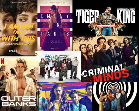 Some of the most watched Netflix shows in 2020.