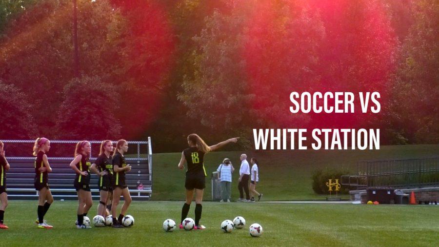 Varsity Soccer vs White Station
